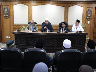 """وكيل الأزهر يستقبل وفد علماء مسلمي""""سومطرة الشمالية"""" بإندونيسيا"""