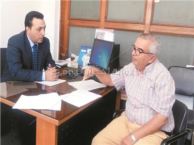 علاء عبد العاطي خلال الحوار
