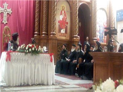 البابا تواضروس يكرم الكهنة والخدام بإيبارشيتي حلوان والمعادي