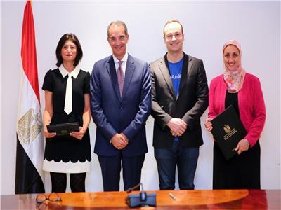 وزير الاتصالات يشهد توقيع اتفاقية بين «ايتيدا» وشركة «أنديلا» العالمية