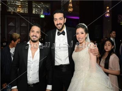 حفل زفاف «حسام ونسمة»