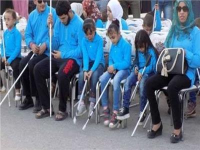 مكتبة الإسكندرية تكرم 18 طالبا من المكفوفين