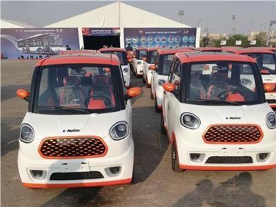 صورة للسيارة الكهربائية الجديدة