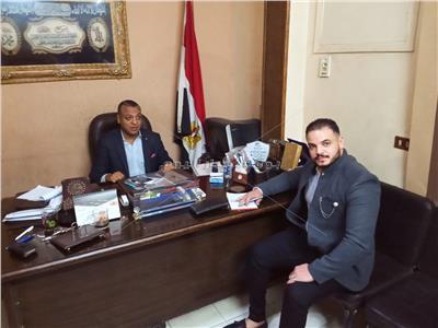 الحوار  مع النائب عمرو أبو اليذيد نائب دائرة بولاق الدكرور