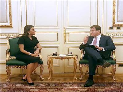 وزيرة الاستثمار ونائب رئيس البنك الأوروبي لإعادة الإعمار والتنمية