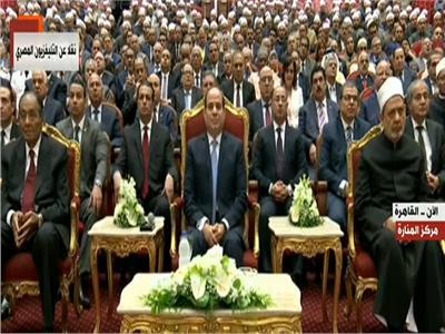 الرئيس السيسى يشهد احتفالية بذكرى المولد النبوى الشريف