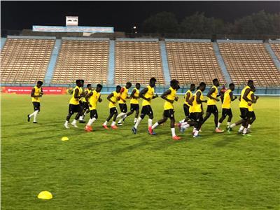 من مران منتخب غانا الاوليمبي