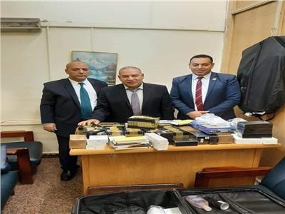 ضبط أجهزة تصنت بمطار القاهرة