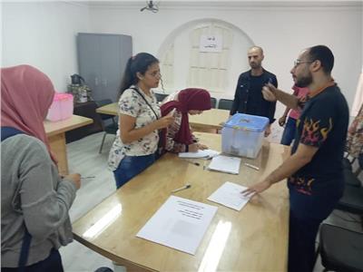 15 كلية في الإعادة لانتخابات الاتحادات الطلابية بجامعة حلوان