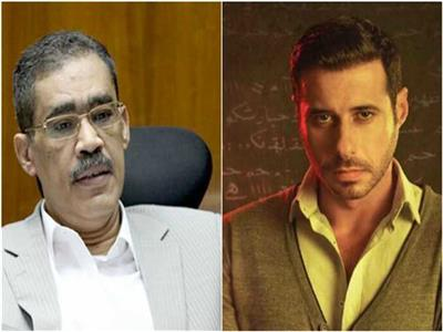 احمد السعدني ونقيب الصحفيين