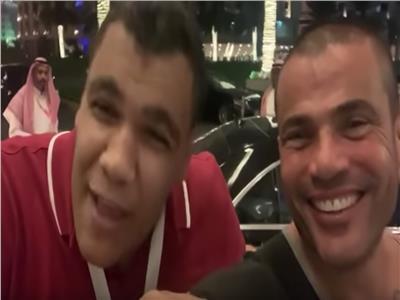 مصطفى البنا وعمرو دياب