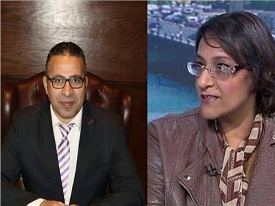 الخبيران حنان رمسيس ومحمد عبدالهادي