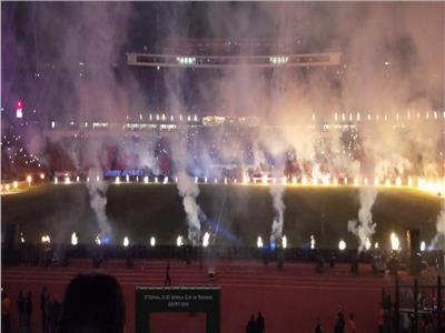 من حفل افتتاح كأس الأمم الإفريقية تحت ٢٣ عامًا
