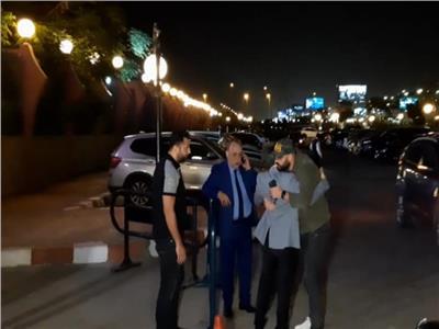 عزاء هيثم أحمد زكي