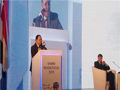 الدكتور محمد معيط وزير المالية خلال كلمته بالمؤتمر السنوي للتأمين