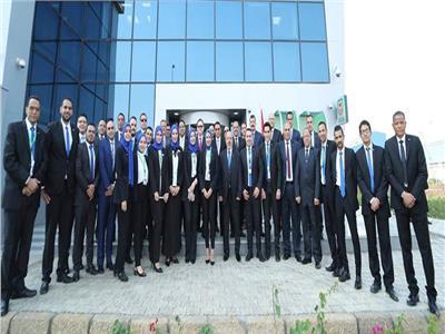 البنك الأهلي المصري يفتتح أحدث فروعه بمدينة الروبيكي الصناعية