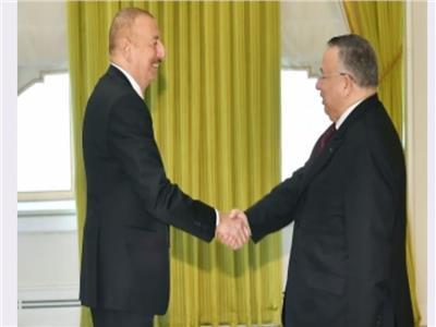 رئيس أذربيجان يستقبل نائب رئيس مجلس النواب