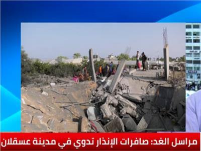 إحدى المنازل التي قصفها الاحتلال الإسرائيلي بغزة
