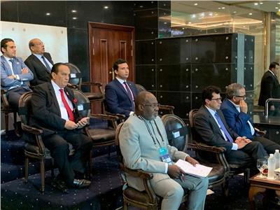 وزير الرياضة يؤازر المنتخب الأولمبي أمام الكاميرون باستاد القاهرة