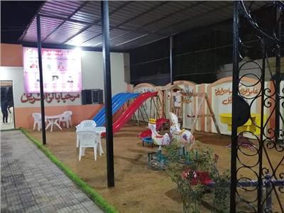 ملاهي لتشجيع الأطفال على التقدم لمركز شباب اكياد دجوي بطوخ