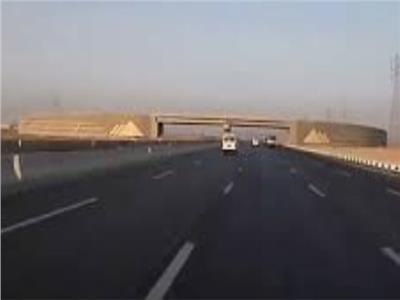 غلق طريق مرسي علم