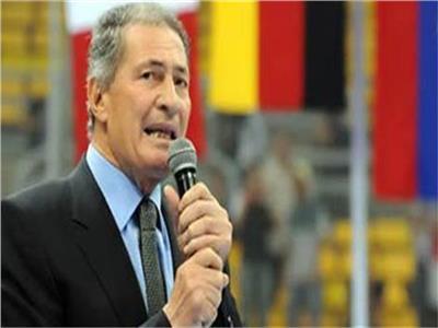 الكابتن حسن مصطفى رئيس الاتحاد الدولي لليد