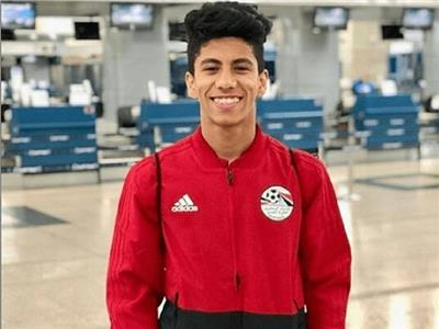عمار حمدي لاعب المنتخب الأولمبي