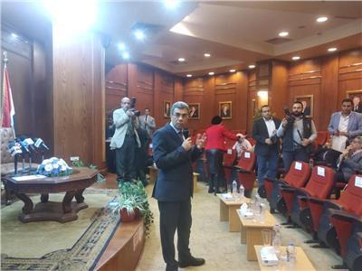 رئيس مجلس إدارة مؤسسة أخبار اليوم الكاتب الصحفي ياسر رزق