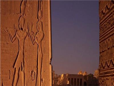 أحد جدران المقابر الملكية