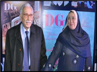 عبد الرحمن ابو زهرة و زوجته