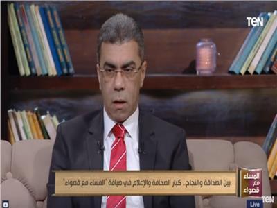 الكاتب الصحفى، ياسر رزق