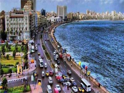 شاطئ كورنيش الإسكندرية