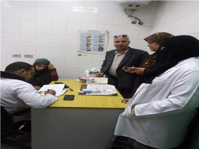 توقيع الكشف الطبي على أكثر من 700 مواطن وصرف العلاج بالمجان بطوخ
