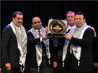نائب محافظ الإسكندرية يشهد الاحتفال بيوم التضامن مع الشعب الفلسطيني