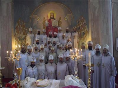 اسقفية الشباب تنظم موتمر للالحان بدير مارمينا بمريوط