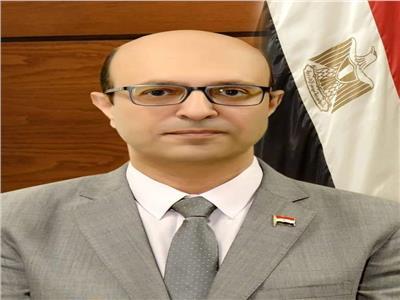 الدكتور أحمد المنشاوي نائب رئيس الجامعة