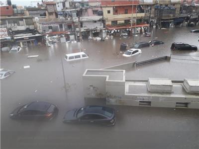لبنان يغرق
