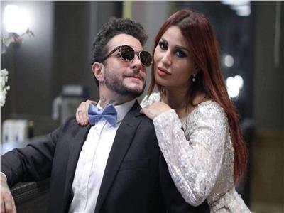 ندى الكامل زوجة الفنان أحمد الفيشاوي