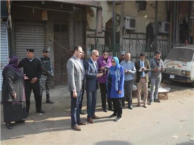 حي غرب شبرا الخيمة في ثوبه الجديد بعد إزالة القمامة من الشوارع