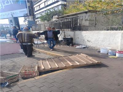 حملة مكبرة لرفع الإشغالات بمدينة نصر