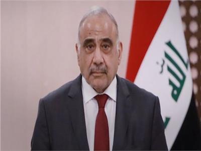 عادل عبدالمهدي رئيس مجلس الوزراء العراقي