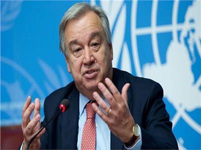 أنطونيو جوتيريش الأمين العام للأمم المتحدة