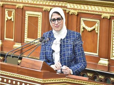 وزيرةالصحةوالسكاند.هالةزايد - تصوير: خالد مشعل