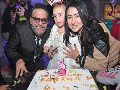 عيد ميلاد ابنة ندى عبد الله