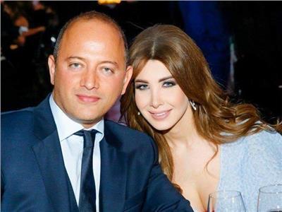 نانسي عجرم وزوجها فادي الهاشم