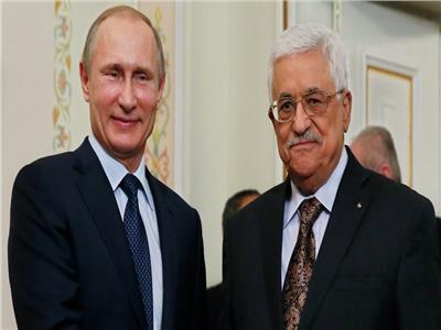 محمود عباس وفلاديمير بوتين