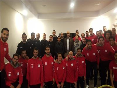 وزير الرياضة يلتقى أبطال منتخب مصر لكرة اليد