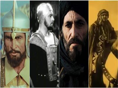 هكذا بدا شكل صلاح الدين في عدد من الأفلام