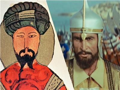 صلاح الدين كما بدا في السينما، وكما ظهر في المنمنمة