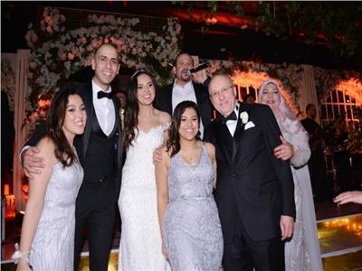 حفل زفاف ابنة وزير الصحة الأسبق.